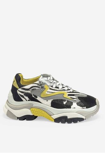 ASH multi Addict - Multi Mesh weaving Low-Top Sneakers 65C08SH149DB5AGS_1