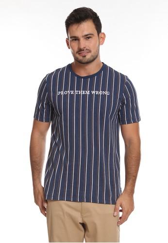 Manzone navy HOLDEN-NAVY T-shirt 2811EAAD306823GS_1