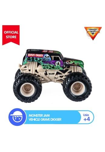 Toyspedia Mainan Mobil MONSTER JAM Vehicle 1:64 Grave Digger CBB61THCAEFAC3GS_1
