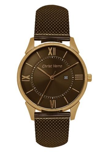 Christ Verra brown Christ Verra Women's Watches CV 71151L-49 BRN ED164AC4C60ADBGS_1