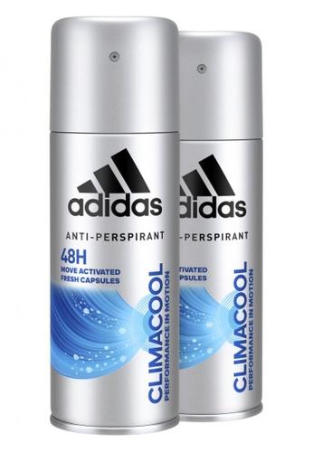 Adidas Climacool Anti-Perspirant Deodorant Body Spray for Him 150ml x 2
