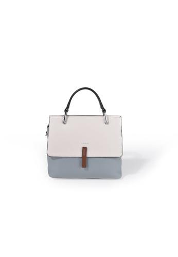 Esfolar 藍色 Esfolar Small Satchel Bag (EA190018) 7ACA6AC8BFF6C8GS_1
