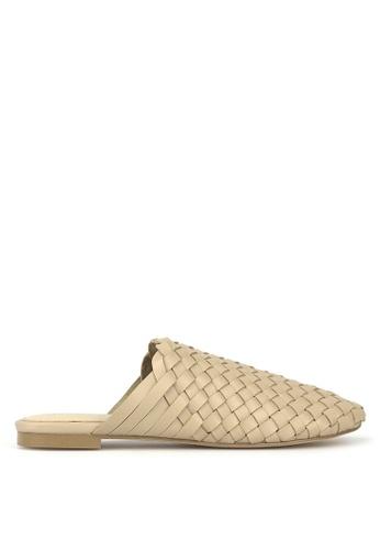Betts beige Rafter Woven Leather Loafers 4BA3ESH872508CGS_1