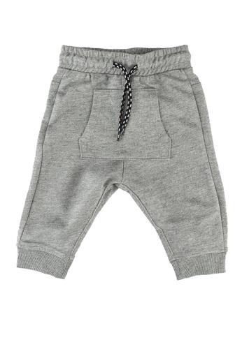FOX Kids & Baby grey Baby-Boys Casual Drawstring Joggers DE449KAD832B9BGS_1