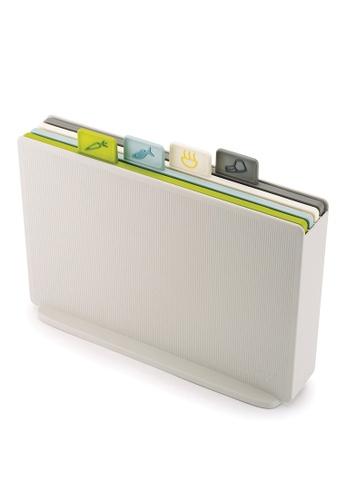 Joseph-Joseph silver Index Cutting Boards with Storage Case - Regular B01EFHL2D5A283GS_1
