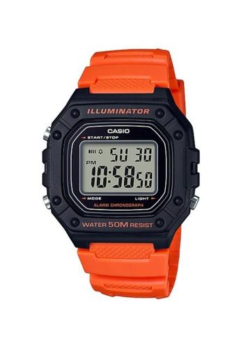 CASIO orange CASIO WATCH W-218H-4B2VDF C4642AC4A66DA0GS_1