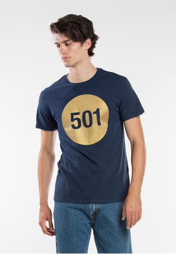 Levi's blue Levi's 501® Graphic Tee 94F71AAB520904GS_1