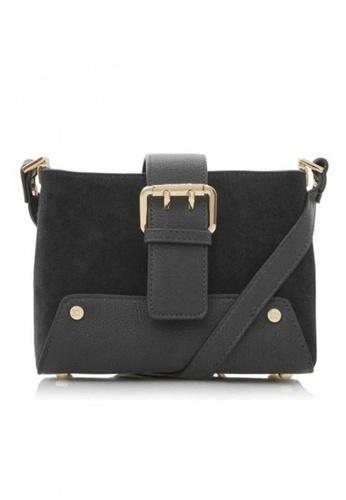 Dune London black Duckle Shoulder Bag C13C9AC517CA60GS_1