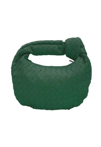 TEERA BELLESA green Esya Mengkuang Bag in Green AA88EAC6C51AE0GS_1