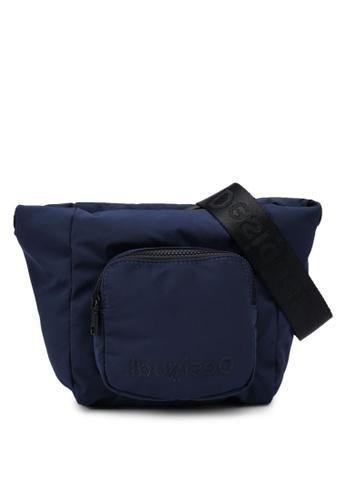 Desigual blue Pocket Sling Bag B901DAC46465D5GS_1
