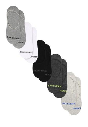 Skechers multi Sp Mens 5Pk Liner Sock M039 9F856AC313273BGS_1
