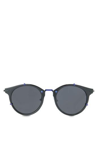 Ms. Hannah 時尚esprit 工作圓框太陽眼鏡, 飾品配件, 飾品配件