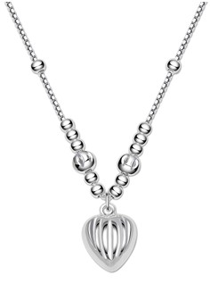 Heart Center Chain Necklace