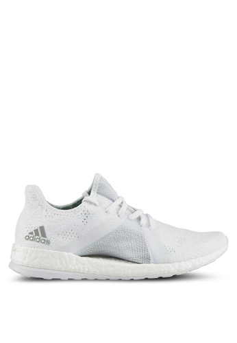 adidas white adidas pureboost x element AD372SH0SUPFMY_1