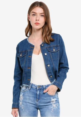 OVS blue Women's Short Jacket 13860AA9B9BC26GS_1