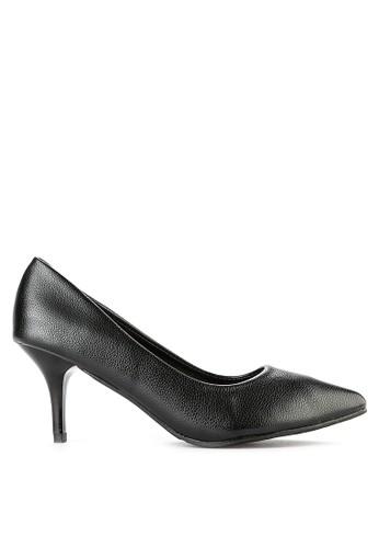 PVN black Sepatu Heels 3080 7FE94SH1924D05GS_1