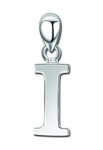 "SC Tom Silver silver Letter Pendant "" I "" SC872AC0J6GTPH_1"