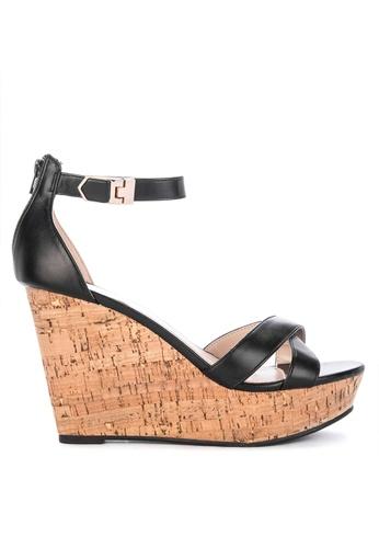 0a9413888e5 Shop Gibi Sefanie Ankle Strap Wedge Sandals Online on ZALORA Philippines