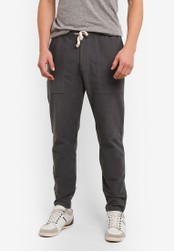 Abercrombie & Fitch grey Casual Sweatpants AB423AA0SBO1MY_1