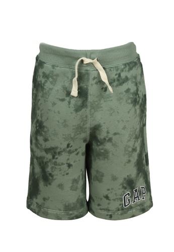 GAP green Kids Logo Shorts FA817KACDD011AGS_1