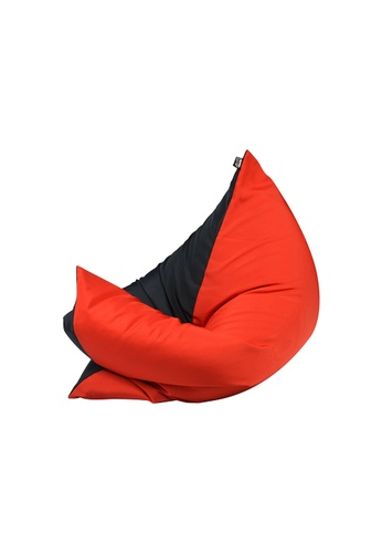 doob black and red and multi PLOPSTA' - versatile spill-proof doob bean bag (Chilled Chili) EED7FHL86E93F9GS_1