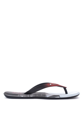 Rider black and red Energy AD Flip Flops RI584SH24IGPPH_1