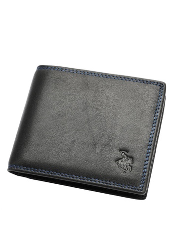 Swiss Polo black Swiss Polo Bi-Fold Rfid Blocking Wallet 8E50DAC8496405GS_1