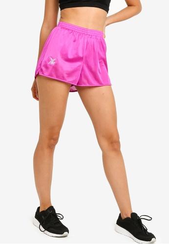 FBT pink FBT Straight Cut Running Shorts 606E2AAC99630FGS_1