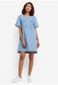Calvin Klein Dalilah-Triangle Blue Dress - Calvin Klein Jeans S$ 329.00 NOW  S$ 264.00 Sizes XS S M L