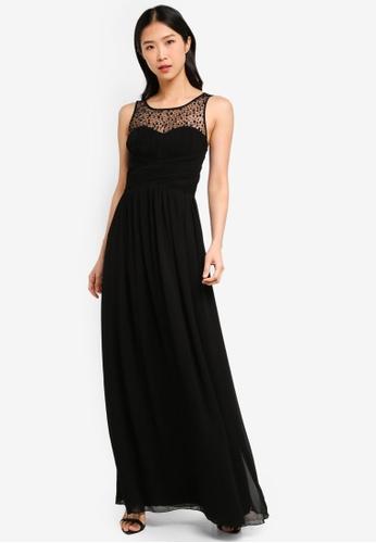 Little Mistress black Black Maxi Dress 7C354AA78A0B15GS_1