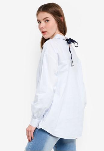 OVS blue Women's Long Sleeves Shirt 05A2CAA363AFF4GS_1