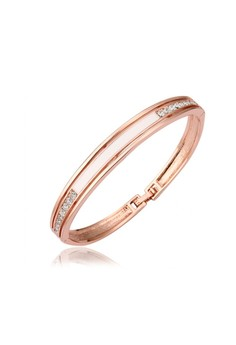 Shara 18K Rose Gold Plated Bangle