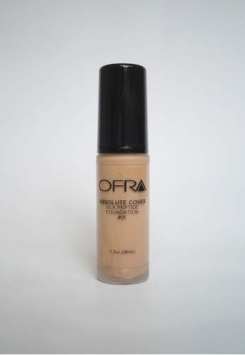 Ofra beige Absolute Cover Silk Peptide Foundation in Shade 5 1F63DBE18D3C7EGS_1