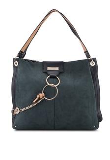 06933c1a8da7 Oversized Metal Ring Slouch Bag C1DB4ACA976143GS 1