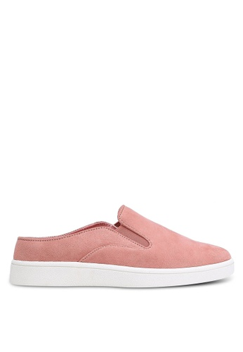 ZALORA pink Slip-On Sneakers A8C4ESH4842BB2GS_1