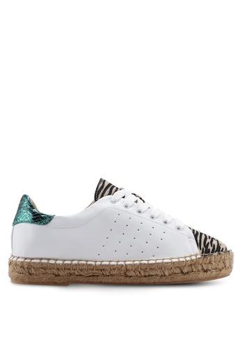 VANESSA WU white Diem Sneakers 171B6SHD1E04B7GS_1