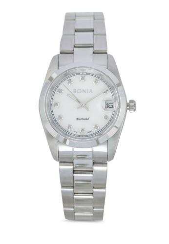 BONIA silver Bonia BNB10082-3357 Silver Stainless Steel Watch BO777AC0SDZRMY_1