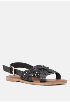 415b548916c 20% OFF London Rag Weaved Strap Flat Sandal HK$ 339.00 NOW HK$ 271.00  Available in several sizes