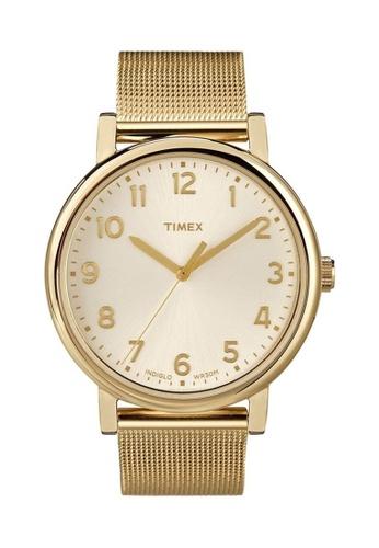 TIMEX gold Originals Stainless Watch A9714ACBD381C4GS_1