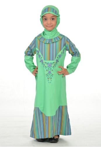 Arafah green Gamis Anak Malinda 939B4KA035E676GS_1