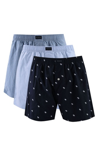 Abercrombie & Fitch blue Multipack Underwears 2CC60US95CE6F8GS_1