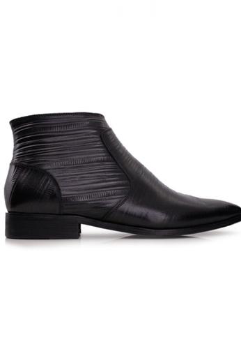 Gino Mariani black Gino Mariani Men's Leather Shoes ACERICO - BLACK 2075DSH46BA7E8GS_1
