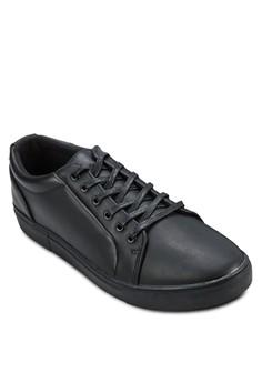 Faux Leather Sneaker