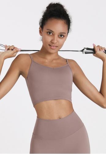 HAPPY FRIDAYS Women's Slim Waist Yoga Sports Bra DSG21 44646AAAEEF9BFGS_1