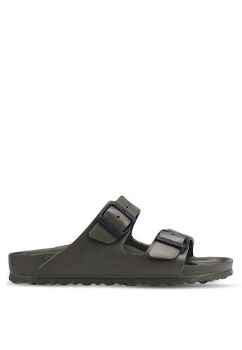 Birkenstock green Arizona EVA Sandals F9C57SH473EE09GS_1