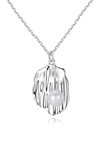 A.Excellence white Premium White Pearl Elegant Necklace 3DF29AC2511382GS_1