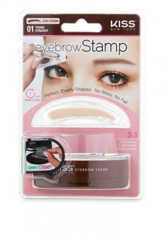 Sesura Beauty Brown Kiss Eyebrow Stamp Straight Korea
