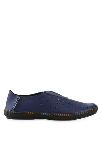 Dr. Kevin blue Loafers Moccasins And Boat Shoes 13211 Leather DR982SH21OPQID_1