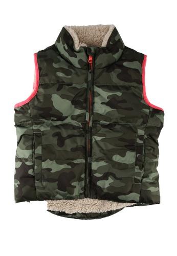 GAP green Down Warmest Vest 98C92KA5AFD904GS_1