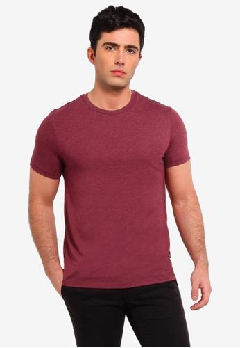 6d17ed1872 Burton Menswear London pink Raspberry Pink Marl Crew Neck T-Shirt  2BB8CAAF5DE2E6GS 1